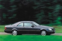 Mercedes CL Coupe W140